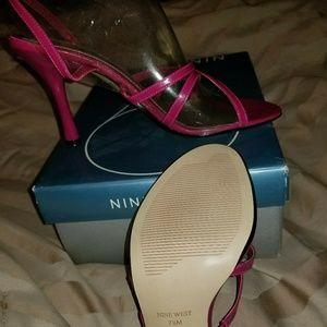 Nine West Rossi Pink Sandal