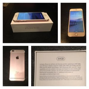 iPhone 6S - 64GB Rose Gold