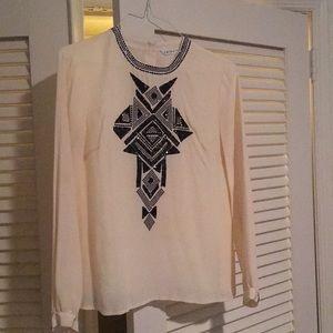 Gorgeous beaded Trina Turk blouse!