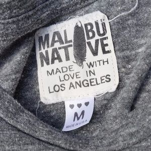 "Malibu Native Tops - ""A Wild Heart Won't Be Tamed"" Tee"