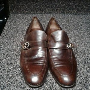 Gucci Men Brown Vintage Shoes Size 2 FOR 50