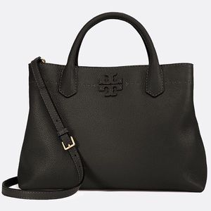 👠NWT Tory Burch Triple-Compartment Satchel