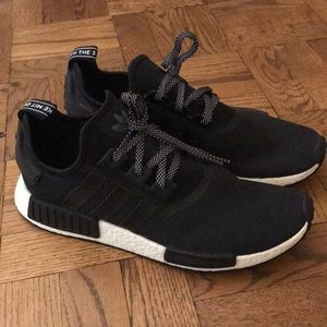 Adidas NMD_R1 Black prime knit sneakers