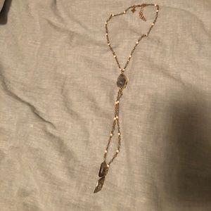 Nordstrom Y necklace