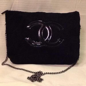 Authentic Chanel Cosmetic Makeup Bag VIP Gift