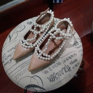 Authentic Jeffrey Campbell Pearls