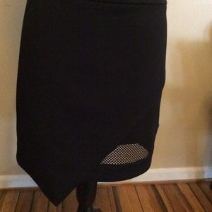Express brand black pencil skirt size 10.