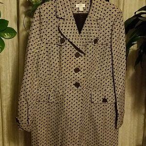Loft spring coat size 14