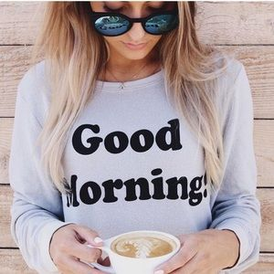 Wildfox good morning ! Crew