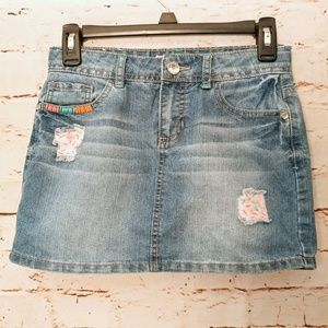 Sprinkles Adjustable Girls Denim Skirt Size 12