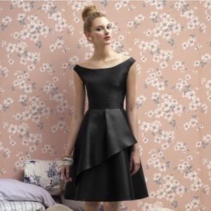 NWT Lela Rose Black Formal Cocktail Dress