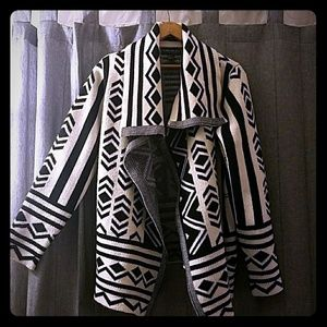 Forever 21 sweater 1x tribal print