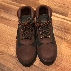 Beef and broccoli's Timberland boots