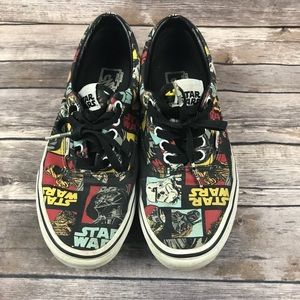 Vans Star Wars Shoes Women's 9.5 Men's 8