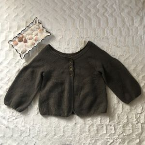 Free People sweater 3 buttons open bottom 8