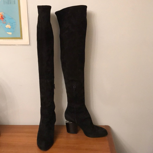 0a53e0bafb4 Alexander Wang Shoes - Alexander Wang Gabi Over-The-Knee Boots