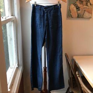 Pants - Vintage 🌊 Wide-leg Sailor Pant sz26