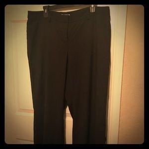 Black slacks