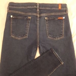 7 For All Mankind the skinny size 32