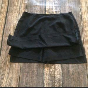 Banana Republic black dress skort size 12