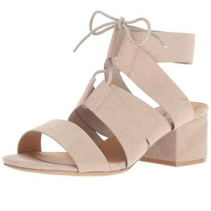 Block heeled gladiator sandals