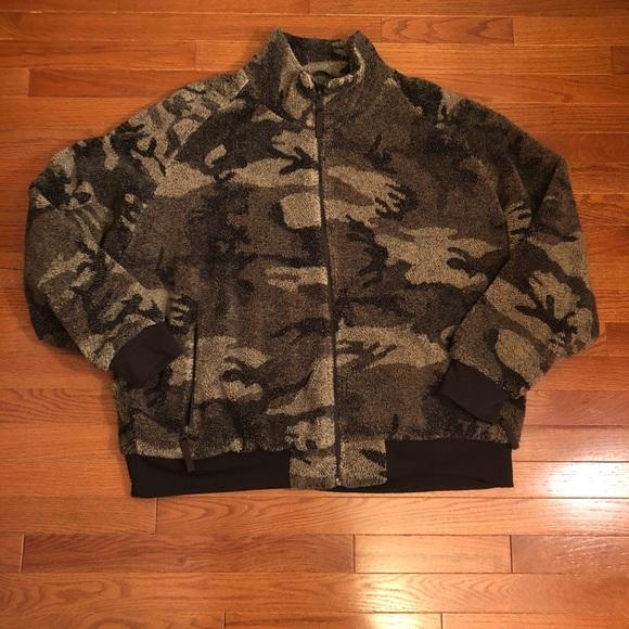 Men's Cabela's Fleece Camo Hunting Jacket