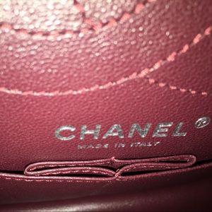 CHANEL Bags - Chanel So Black Chevron reissue 2.55 Flap bag NWT
