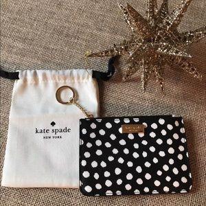 NWT Kate Spade bitsy laurel way keychain wallet