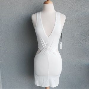 🆕 LOVERS + FRIENDS Ivory Bodycon Dress size S