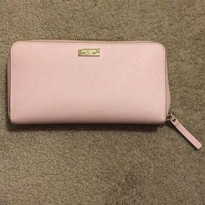 Kate Spade Newbury Lane Posypink Zip Wallet