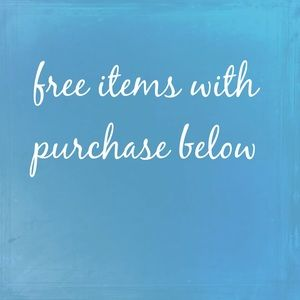 Free item with purchase!