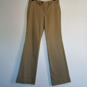 Anthropologie Paperboy khaki Casual Pants size 6