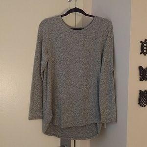 Heathered knit
