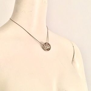 Sterling artisan necklace
