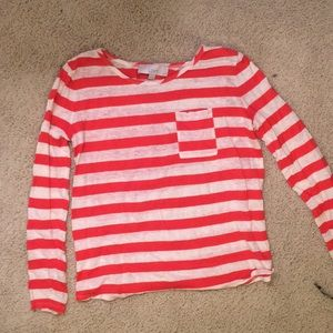 Loft striped shirt S