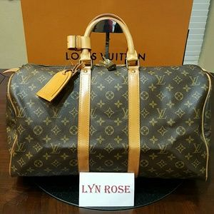 Authentic Louis Vuitton Keepall 45