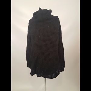 Rue 21 Black Cowl Neck Sweater