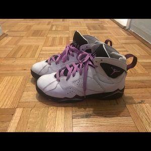 Air Jordans 7, Fuchsia glow