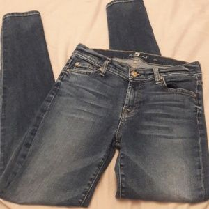 7 For All Mankind the skinny size 28