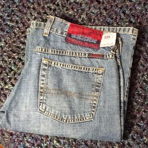 Vintage Lucky Brand Peanut Pant Wide Flare Jeans
