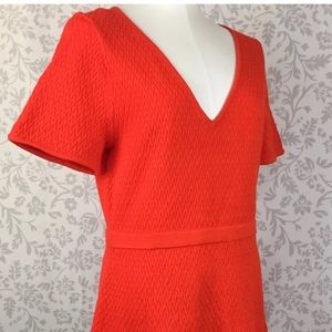 INCREDIBLE Red Trina Turk sweater dress XL, NWT