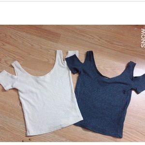 Ribbed crop top bundle