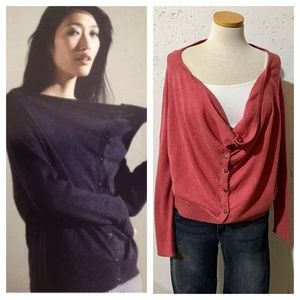 New Eileen Fisher Oversized Cardigan Sweater