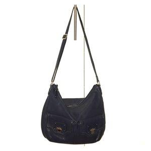 Cole Haan Navy Blue hobo shoulder bag