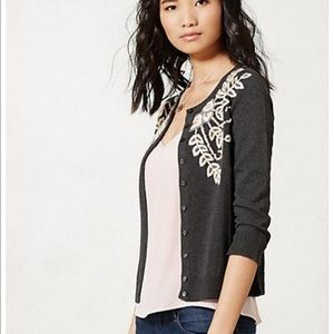Tabitha}• embroidered cozy Cardigan