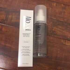 aloxxi style essential 7 restorative hair serum