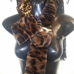 Cynthia Rose fur scarf