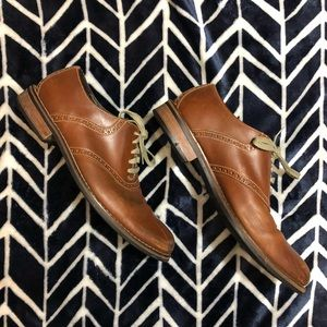 Cole Haan brown oxfords
