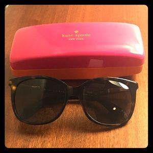 Kate Spade Julieanna plastic retro sunglasses