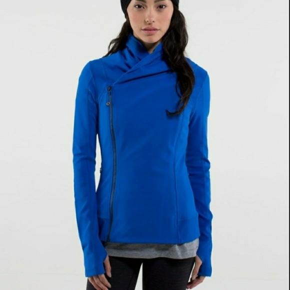 lululemon athletica Jackets & Blazers - Blue lululemon bhakti yoga jacket size 6
